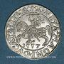 Monnaies Lituanie. Grand Duché. Sigismond III Auguste (1544-1572). 1/2 gros 1557
