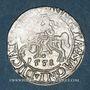 Monnaies Lituanie. Grand Duché. Sigismond III Auguste (1544-1572). 1/2 gros 1558