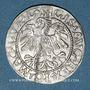 Monnaies Lituanie. Grand Duché. Sigismond III Auguste (1544-1572). 1/2 gros 1559