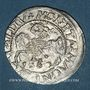 Monnaies Lituanie. Grand Duché. Sigismond III Auguste (1544-1572). 1/2 gros 1560