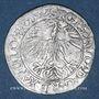 Monnaies Lituanie. Grand Duché. Sigismond III Auguste (1544-1572). 1/2 gros 1564. Différent : hache. R! R! R!
