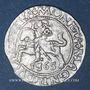 Monnaies Lituanie. Grand Duché. Sigismond III Auguste (1544-1572). 1/2 gros 1565. Différent : hache