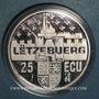 Monnaies Luxembourg. Jean (1964 - 2000). 25 écu 1996. (PTL 925/1000. 22,85 g)