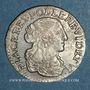 Monnaies Monaco. Louis I (1662-1701). 1/12 écu ou 5 sols, luigino 1668. Imitation de Dombes