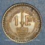 Monnaies Monaco. Louis II (1922-1949). 1 franc 1924. Poissy