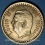 Monnaies Monaco. Louis II (1922-1949). 1 franc n. d. (1943)