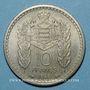 Monnaies Monaco. Louis II (1922-1949). 10 francs 1946