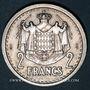Monnaies Monaco. Louis II (1922-1949). 2 francs n. d. (1943)