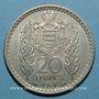 Monnaies Monaco. Louis II (1922-1949). 20 francs 1947