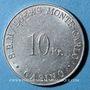 Monnaies Monaco. S. B. M. Loews Monte-Carlo. Casino. 10 francs