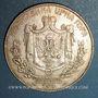 Monnaies Montenegro. Nicolas I, prince (1860-1910). 5 perpera 1909