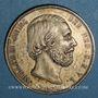 Monnaies Pays Bas. Guillaume III (1849-1890). 2 1/2 gulden 1872