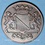 Monnaies Pays Bas. Utrecht. Duit 1755