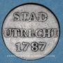 Monnaies Pays Bas. Utrecht. Duit 1787