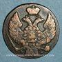 Monnaies Pologne. Alexandre I de Russie (1815-1825). 1 grosz 1836