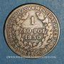 Monnaies Pologne. Alexandre I de Russie (1815-1825). 1 zloty 1830 FH