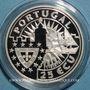 Monnaies Portugal. 25 écu 1996 Pedro Alvares Cabral.  (PTL 925/1000. 28 g)