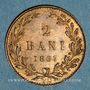 Monnaies Roumanie. Charles I, prince (1866-1881). 2 bani 1867 H