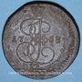 Monnaies Russie. Catherine II (1762-1796). 5 kopecks 1768EM. Ekaterinbourg