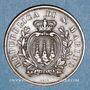 Monnaies Saint Marin. République. 10 centesimi 1894R
