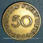 Monnaies Sarre. Département français (1945-1957). 50 franken 1954
