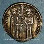 Monnaies Serbie. Stefan Uroš II Milutin (1282-1321). Denier ou matapan