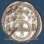 Monnaies Silésie. Léopold I (1657-1705). 3 pfennig 1695. Opole (Oppeln)