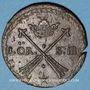 Monnaies Suède. Charles XI (1660-1697). 1 öre (S.M.) 1676. Avesta