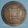 Monnaies Suède. Gustave III (1771-1792). 6 öre 1790