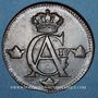 Monnaies Suède. Gustave IV Adolphe (1792-1809). 1/2 skilling 1809