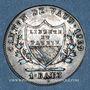 Monnaies Suisse. Canton de Vaud. Concordat. 1 batz 1829
