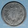 Monnaies Suisse. Confédération. 1 rappen 1944B