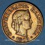Monnaies Suisse. Confédération. 10 rappen 1919B