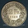 Monnaies Suisse. Confédération. 2 francs 1958 B