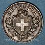 Monnaies Suisse. Confédération. 2 rappen 1937B