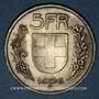 Monnaies Suisse. Confédération. 5 francs 1926B