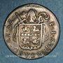 Monnaies Suisse. Evêché de Sion. François Joseph Supersaxo (1701-1734). 1 batz 1710