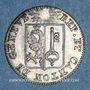 Monnaies Suisse. Genève. 1 sol 1825