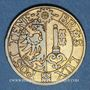 Monnaies Suisse. Genève. Société Genevoise de Tir de Campagne. 1860. Jeton de tir, laiton
