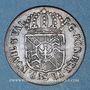 Monnaies Suisse. Principauté de Neuchâtel. Frédéric Guillaume II (1786-1797). 1/2 batz 1789