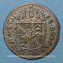 Monnaies Suisse. Principauté de Neuchâtel. Frédéric Guillaume II (1786-1797). 1/2 batz 1794