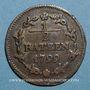 Monnaies Suisse. République Helvétique. Halbbatzen 1799
