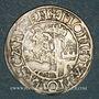 Monnaies Suisse. Schaffhouse. 1/2 batz (vers 1515-1533). R ! R !