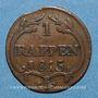 Monnaies Suisse. Schwyz. 1 rappen 1815