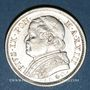 Monnaies Vatican. Pie IX (1846-1878). 1 lire 1869R, an XXIII. Rome