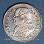 Monnaies Vatican. Pie IX (1846-1878). 10 soldi 1867R, an XXII. Rome