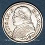 Monnaies Vatican. Pie IX (1846-1878). 10 soldi 1868, an XXIII. Rome