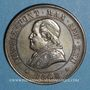 Monnaies Vatican. Pie IX (1846-1878). 4 soldi 1867R, an XXII. Rome