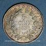 Monnaies Vatican. Pie IX (1846-1878). 5 soldi 1866R, an XXI. Rome