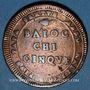Monnaies Vatican. Pie VI (1775-1799). 5 baiocchi 1797
